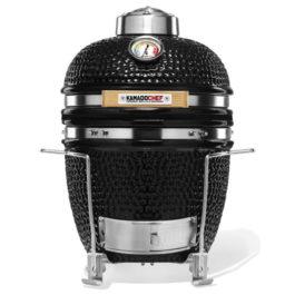 Kamado Chef 1100 Prestige Diamond Black (rozsdamentes acél)