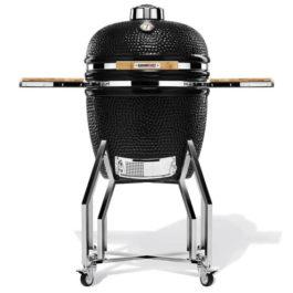 Kamado Chef 19″ kerámia grill fekete struktúrált