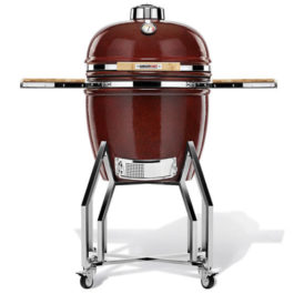 Kamado Chef 19″ kerámia grill piros sima